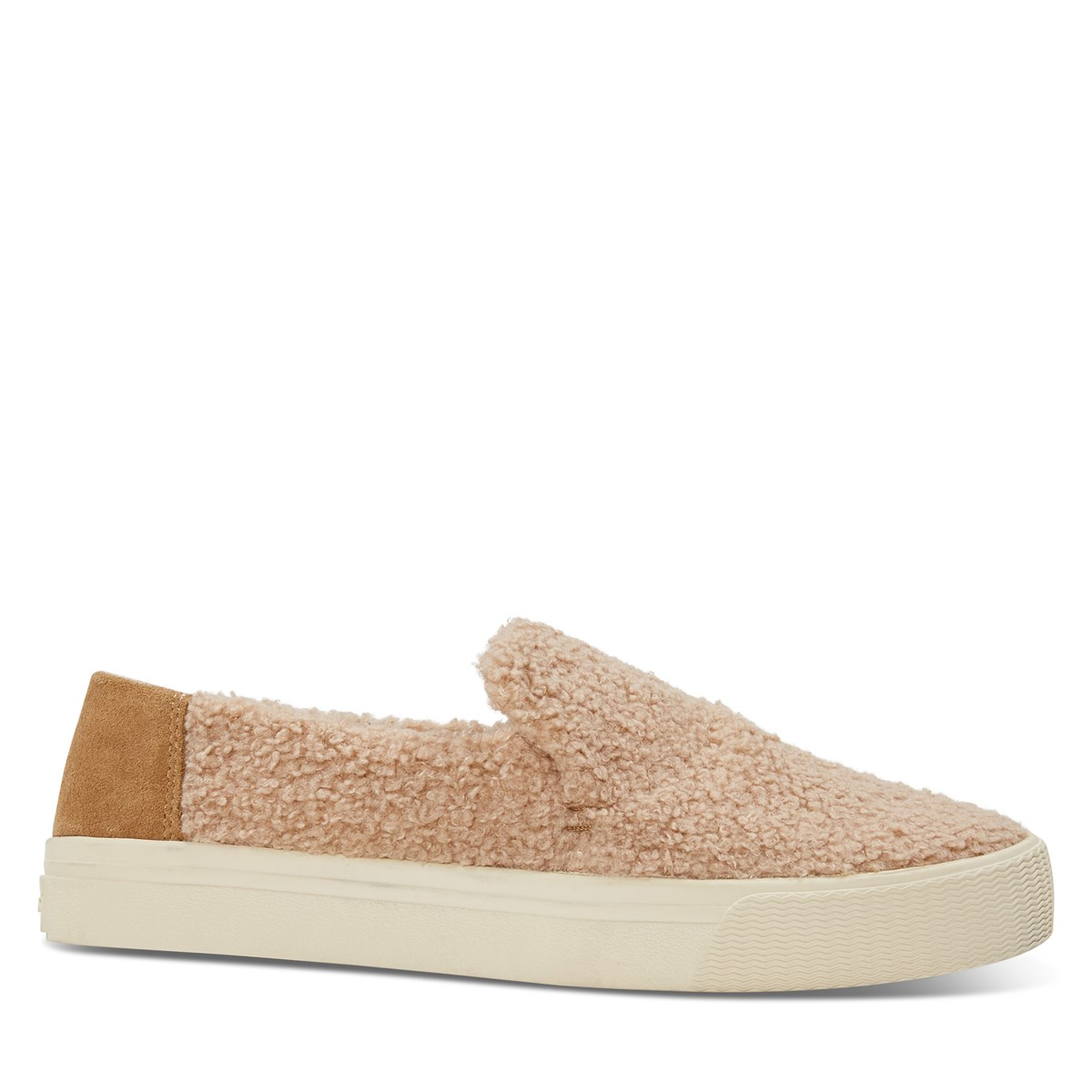 Women's Sunset Shearling Slip-On Shoes in Light Brown