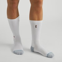 Men's Reunion Socks in White