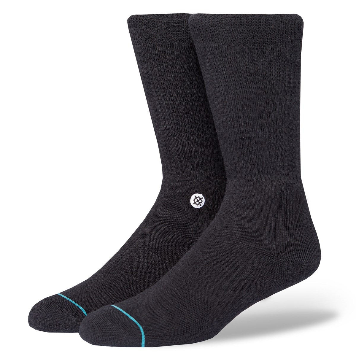 Men's Icon Socks in Black