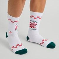 Men's Fresh Baked Socks in White