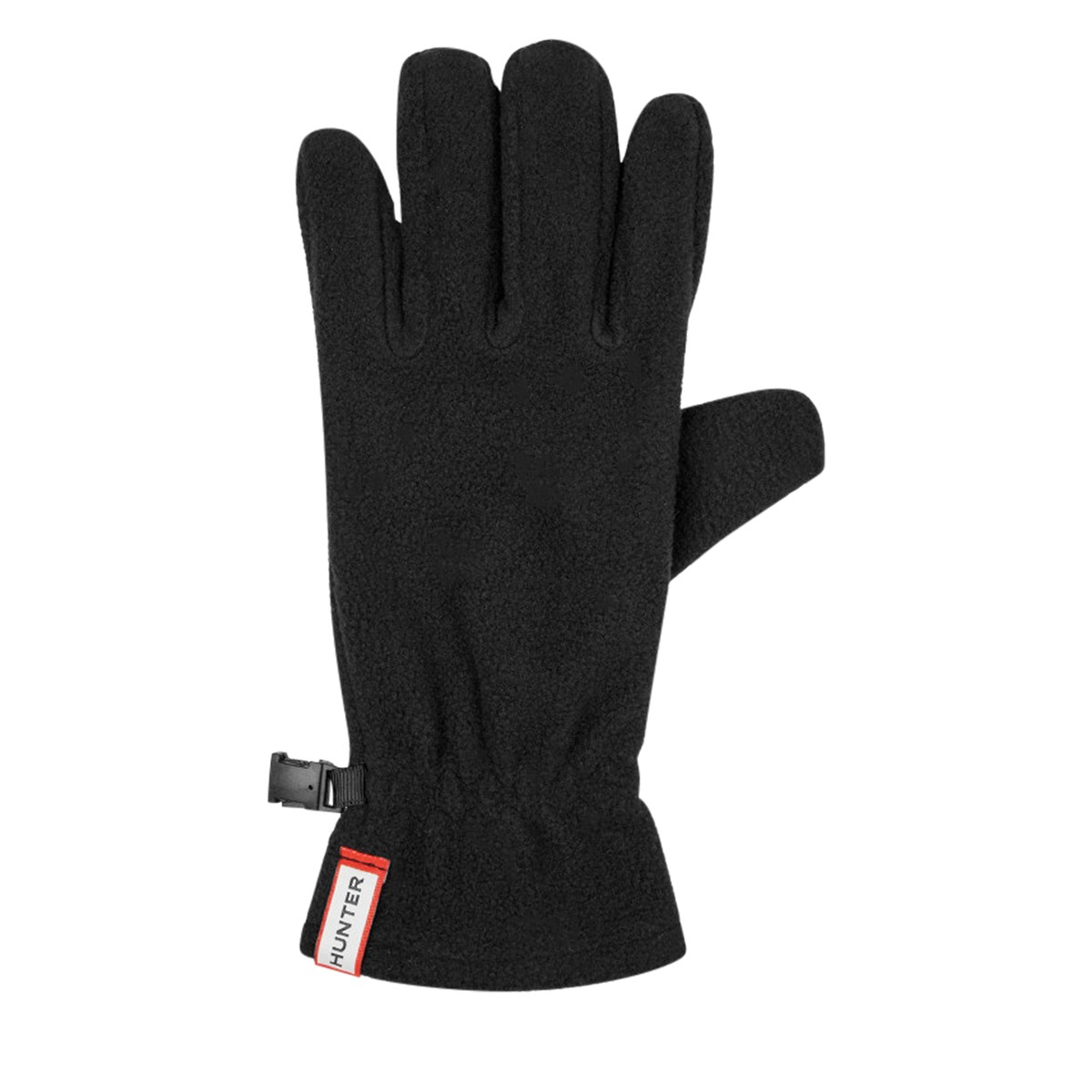 Fleece Gloves in Black
