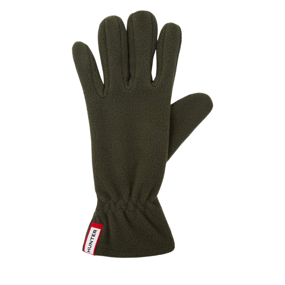 Fleece Gloves in Khaki
