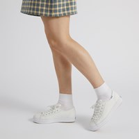 Women's Triple Kick Platform Sneakers in White