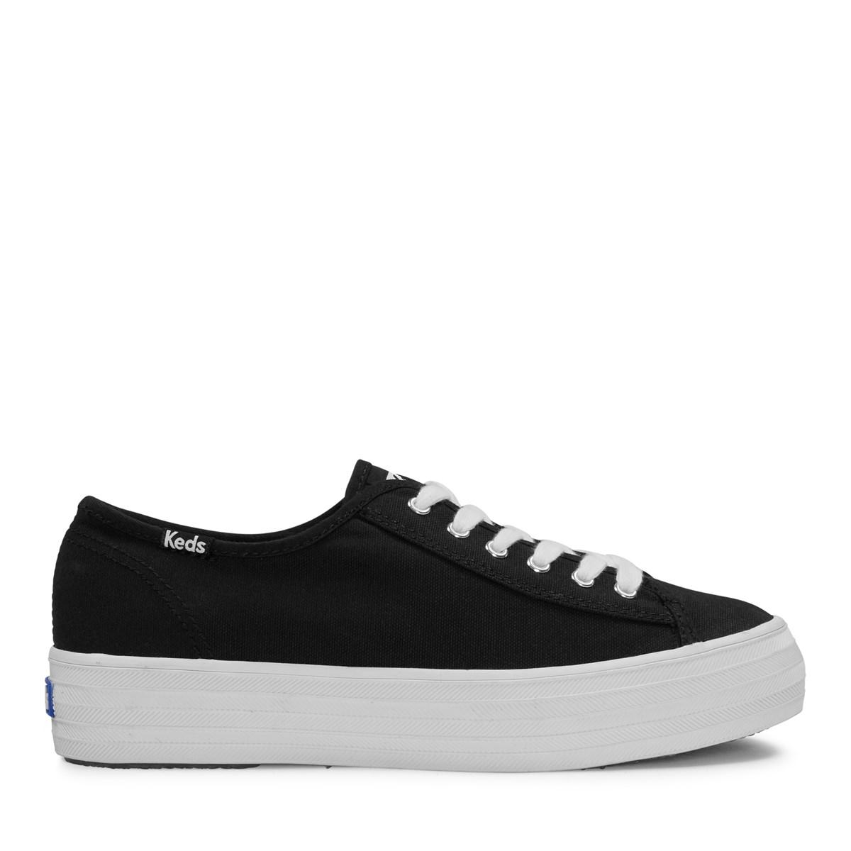 Women's Triple Kick Platform Sneakers in Black