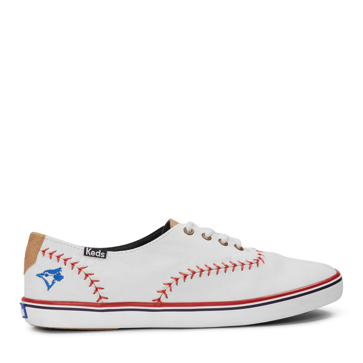 4c629eea203072 Women s Champion Pennant MLB Blue Jays Sneakers. Previous. default view ...