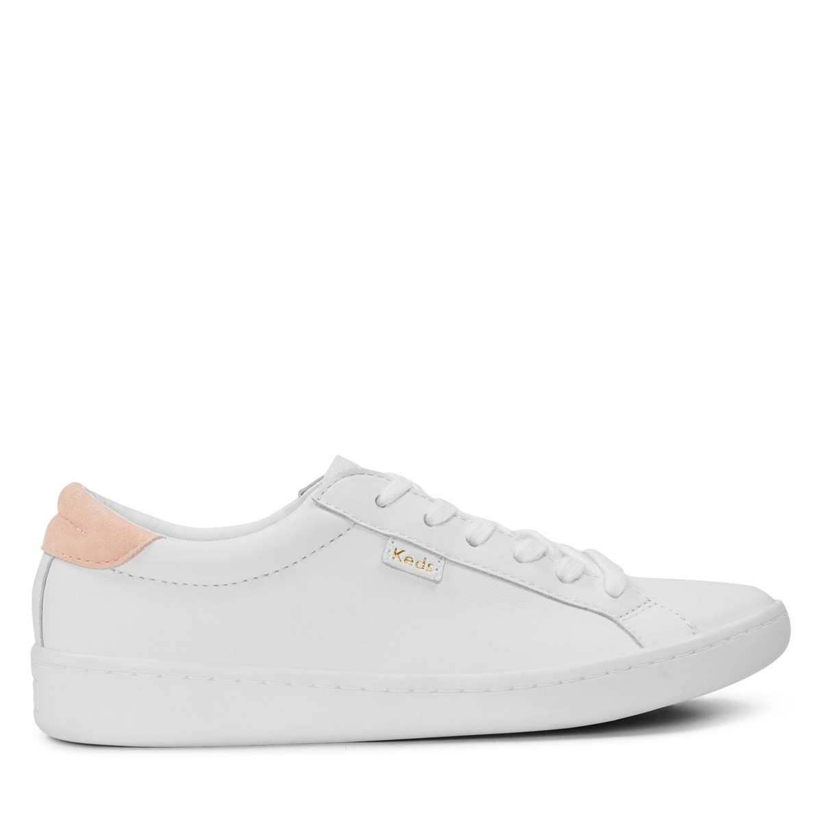 Women's Ace Leather White Sneaker