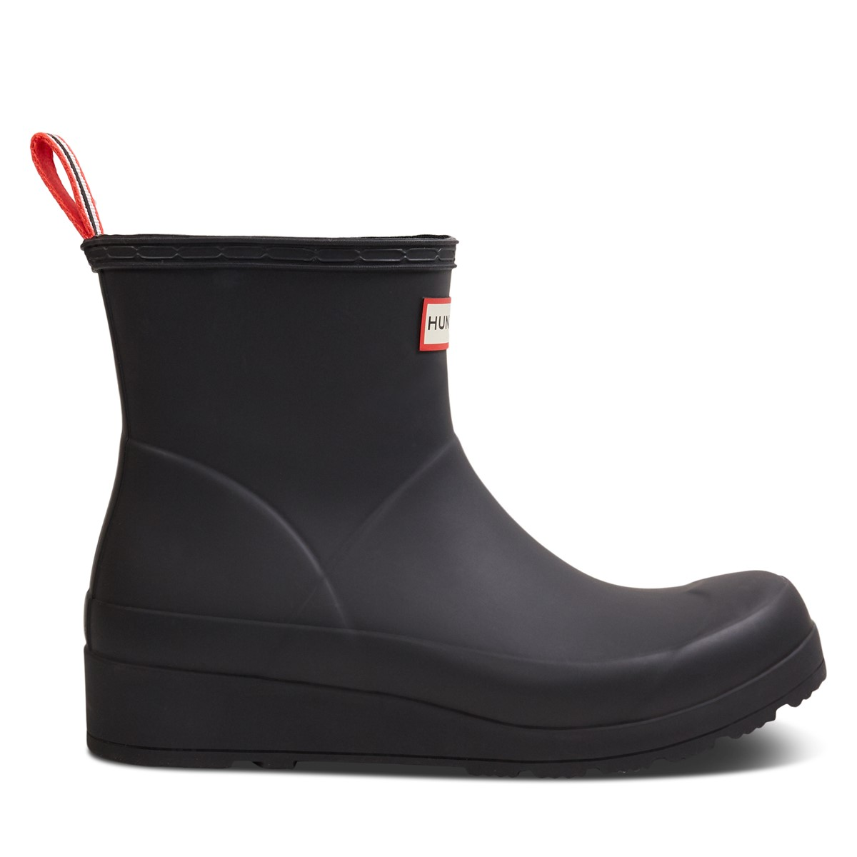 Women's Original Play Short Rain Boots in Black