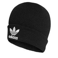 Trefoil Beanie in Black