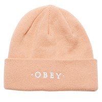 Union Beanie in Dusty Coral