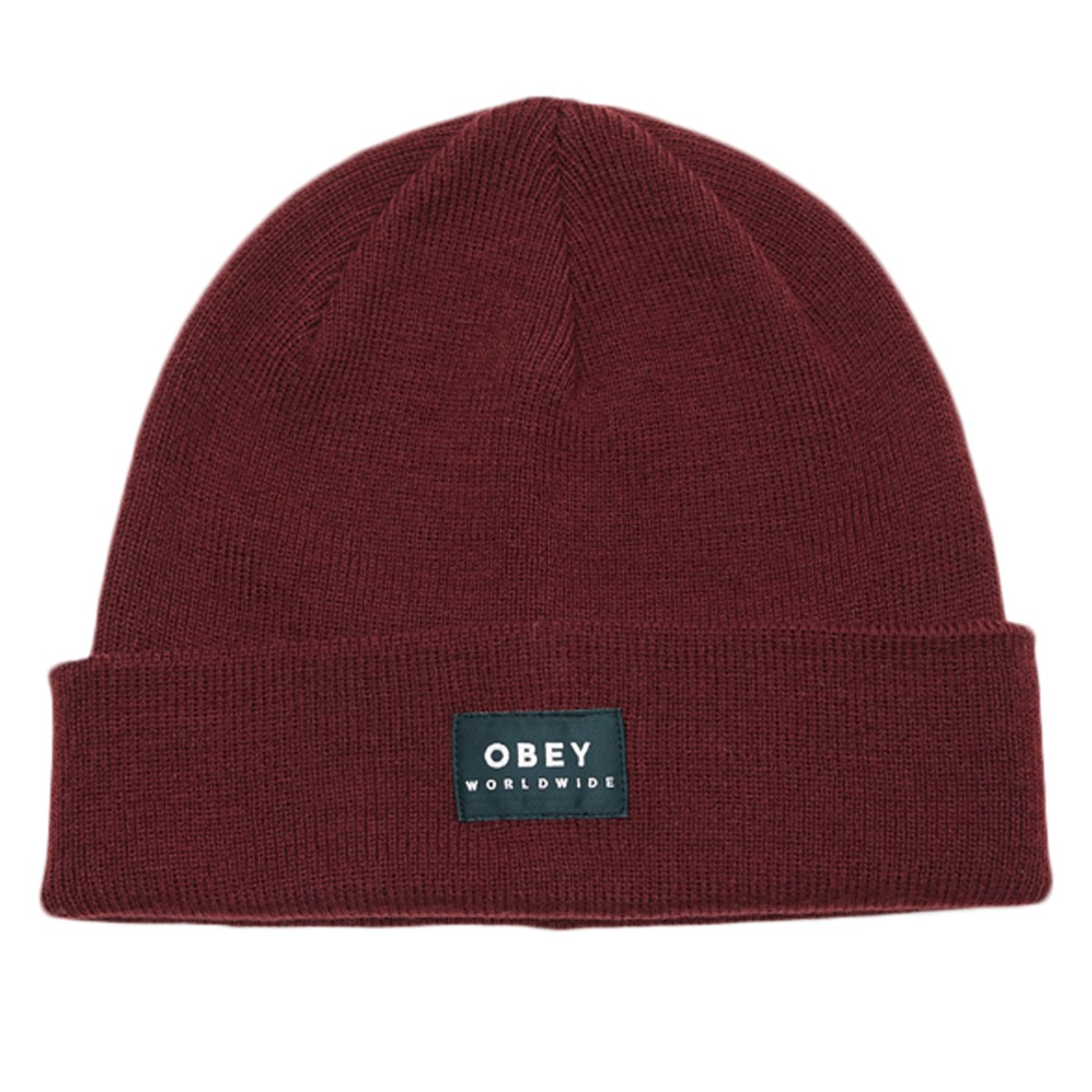Vernon II Beanie in Dark Red