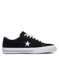 One Star Vintage Suede Low Top Sneakers in Black