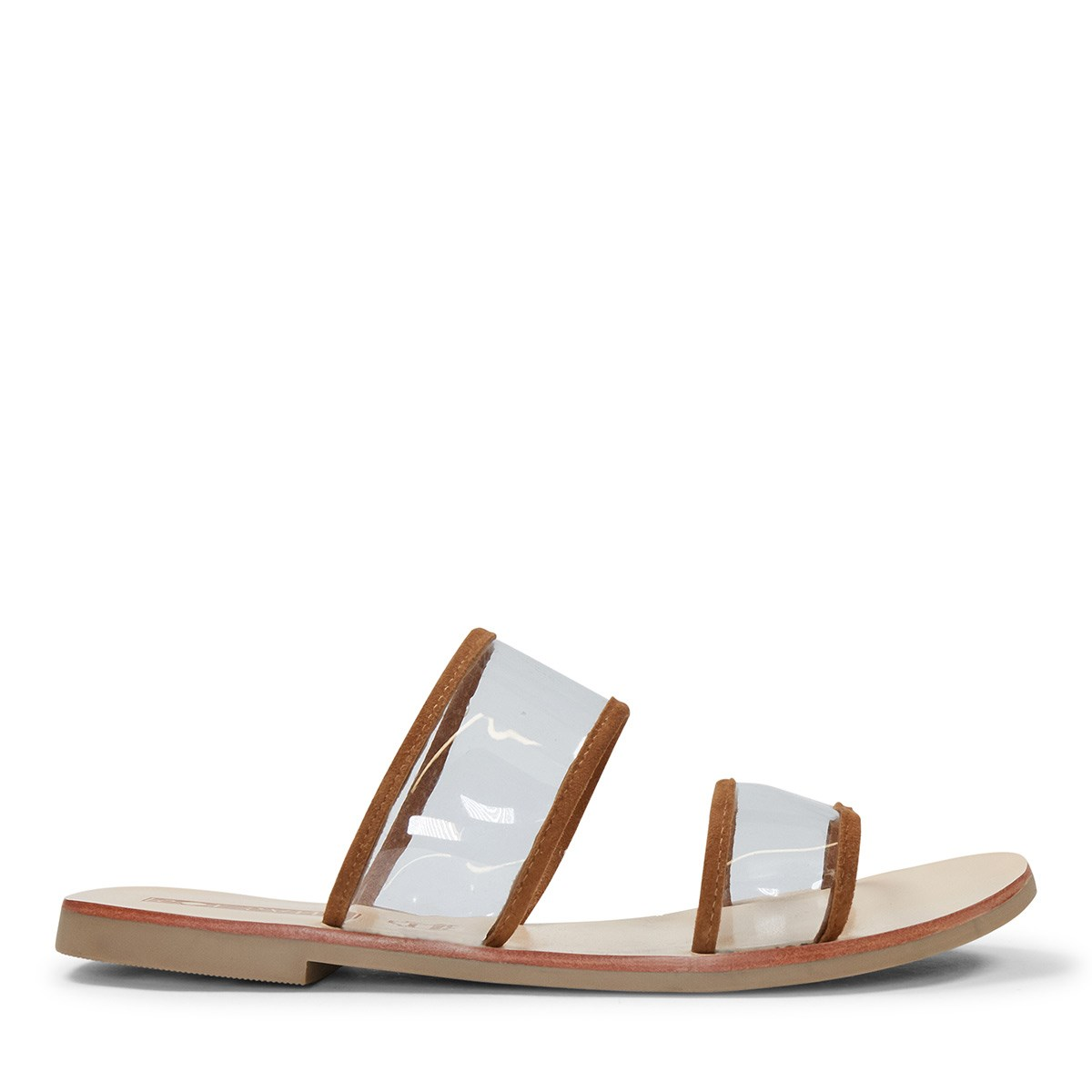Women's Ziggy Slide in Tan