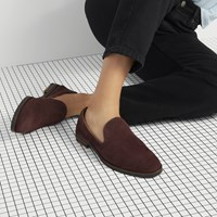 Women's Ava Loafers in Bordeaux