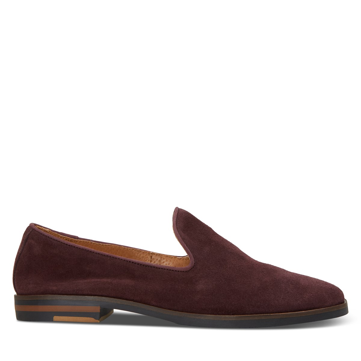 Women's Ava Loafer in Bordeaux