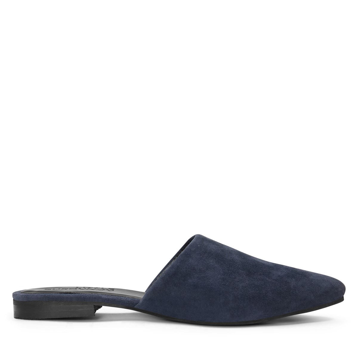 Women's Mila Closed Toe Mule in Navy
