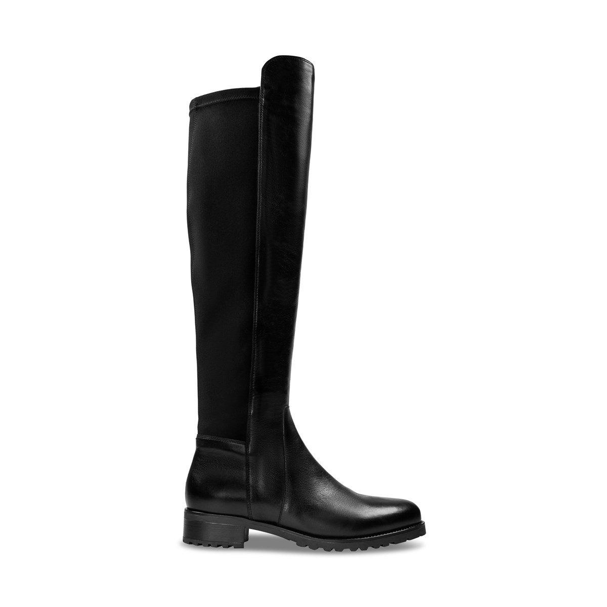 Women's Jade Over The Knee Boots in Black