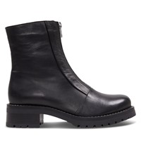 Women's Quinn Heeled Boots in Black