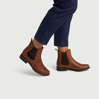 Women's Clara Boot in Brandy