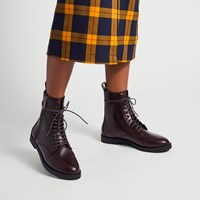 Women's Morton Boots in Brown
