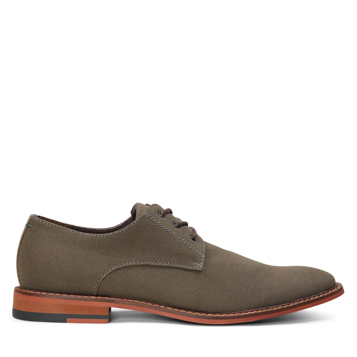 Men's Alberto Lace-Up Shoe in Moss Nylon