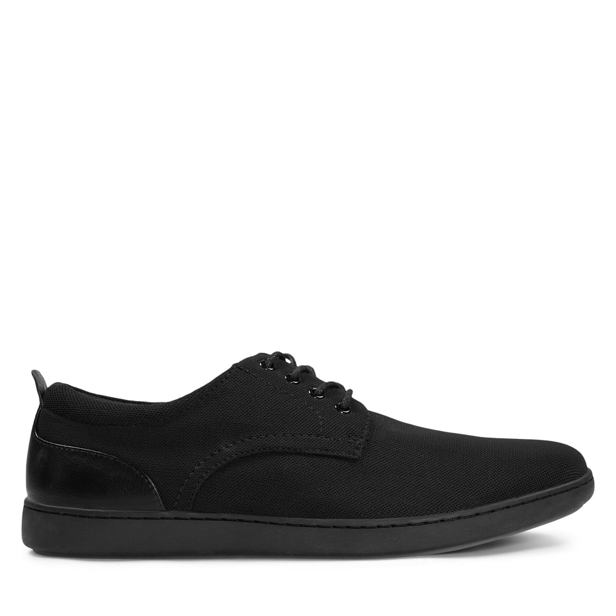 Men's Paolo Shoes in Black Mesh