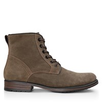 Men's Oliver Lace-Up Boots in Khaki