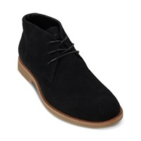 Men's Emilio Lace-Up Shoe in Black Suede