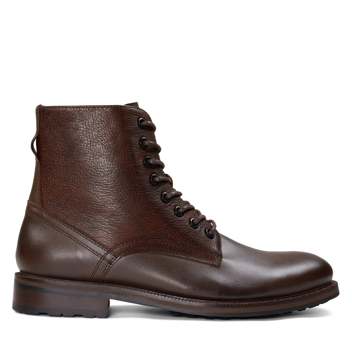Men's Matteo Lace-Up Boots in Brown