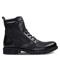 Men's Eryk Lace-Up Boots in Black