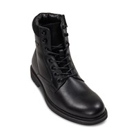 Men's Hugo Lace-Up Boots in Black