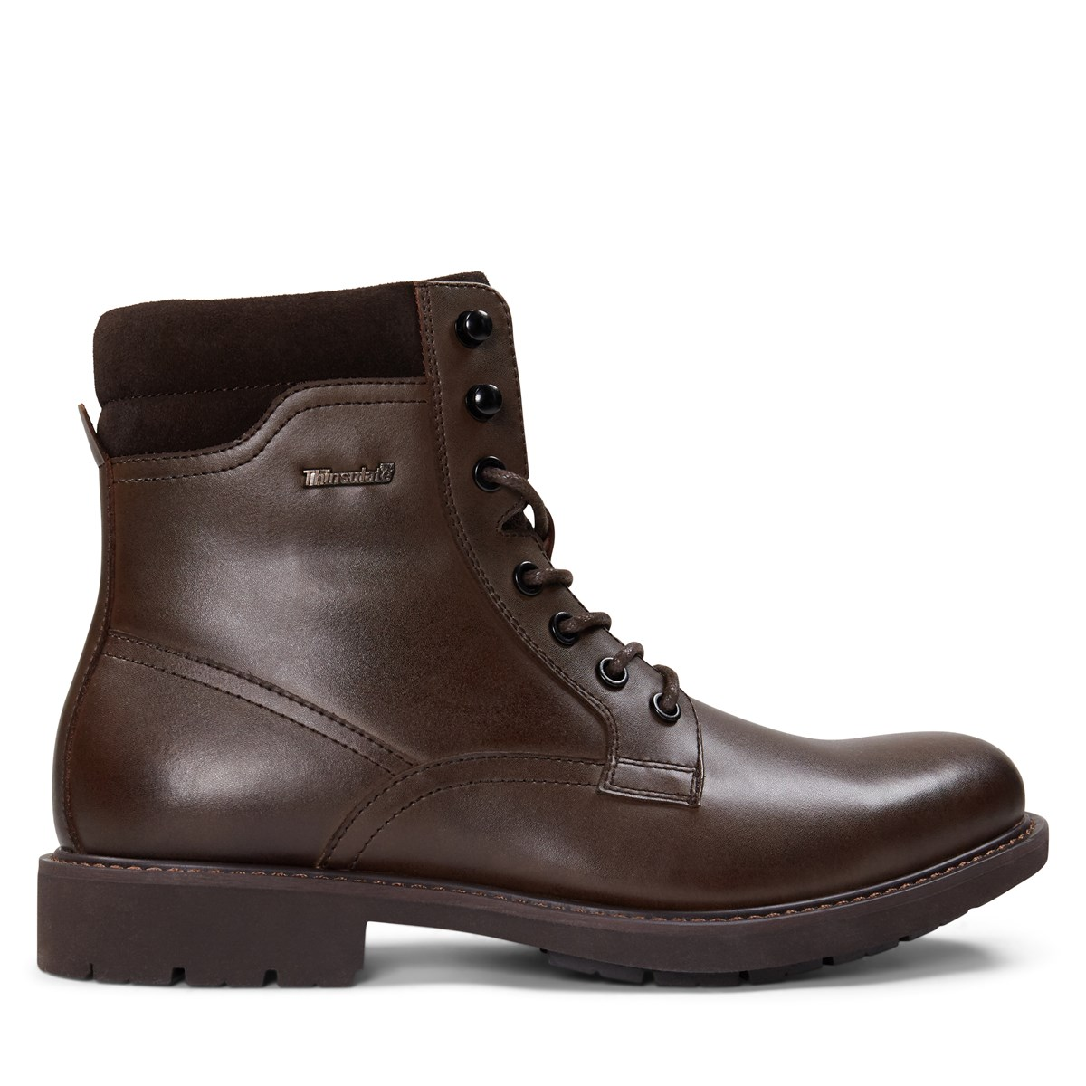 Men's Hugo Lace-Up Boots in Brown