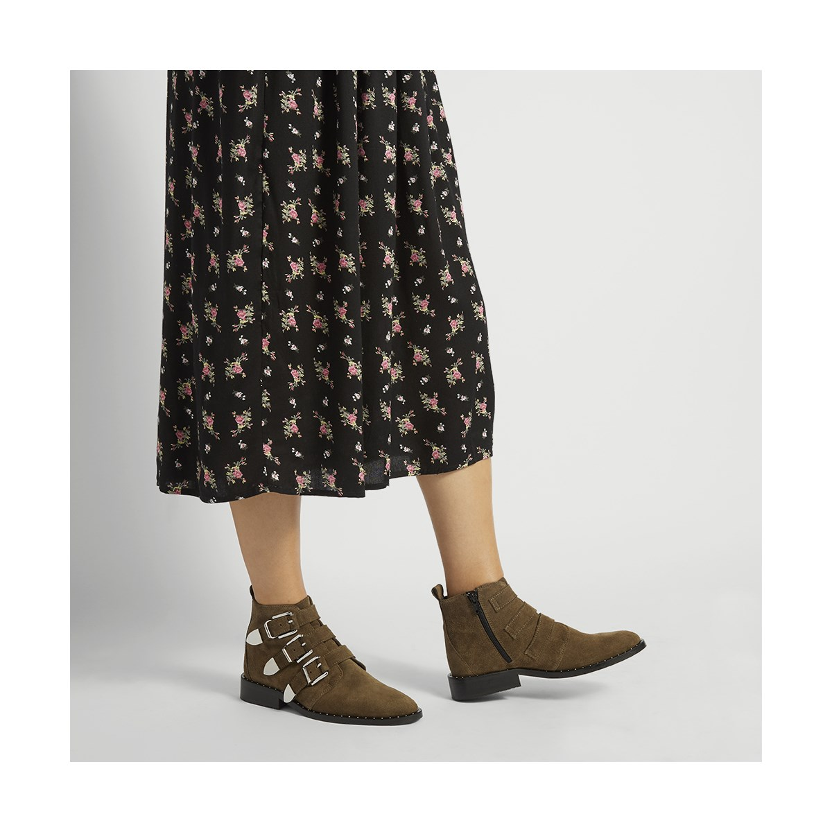 Women's Sloane Boot in Khaki