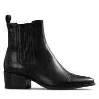 Women's Marja Toe Ankle Boots in Black