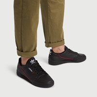 Men's Continental 80 Sneakers in Black