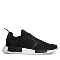 Men's NMD_R1 Sneakers in Black/White