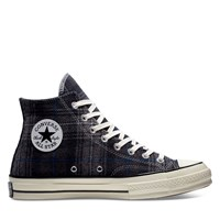 Women's Chuck 70 Hi Sneakers in Black Plaid