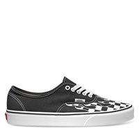 Women's Authentic Check Flame Sneaker in Black