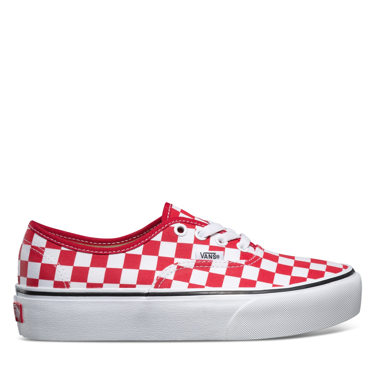 2813fbb3ba6093 Women s Authentic Platform 2.0 Sneaker in Red Checkerboard. Previous.  default view ...