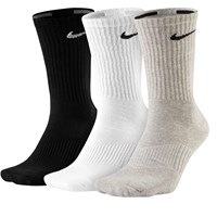 3 Pair Pack of Perfect Cushion Crew Training Socks