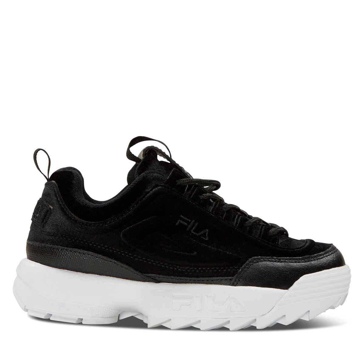 Women's Disruptor II Premium Velour in Black