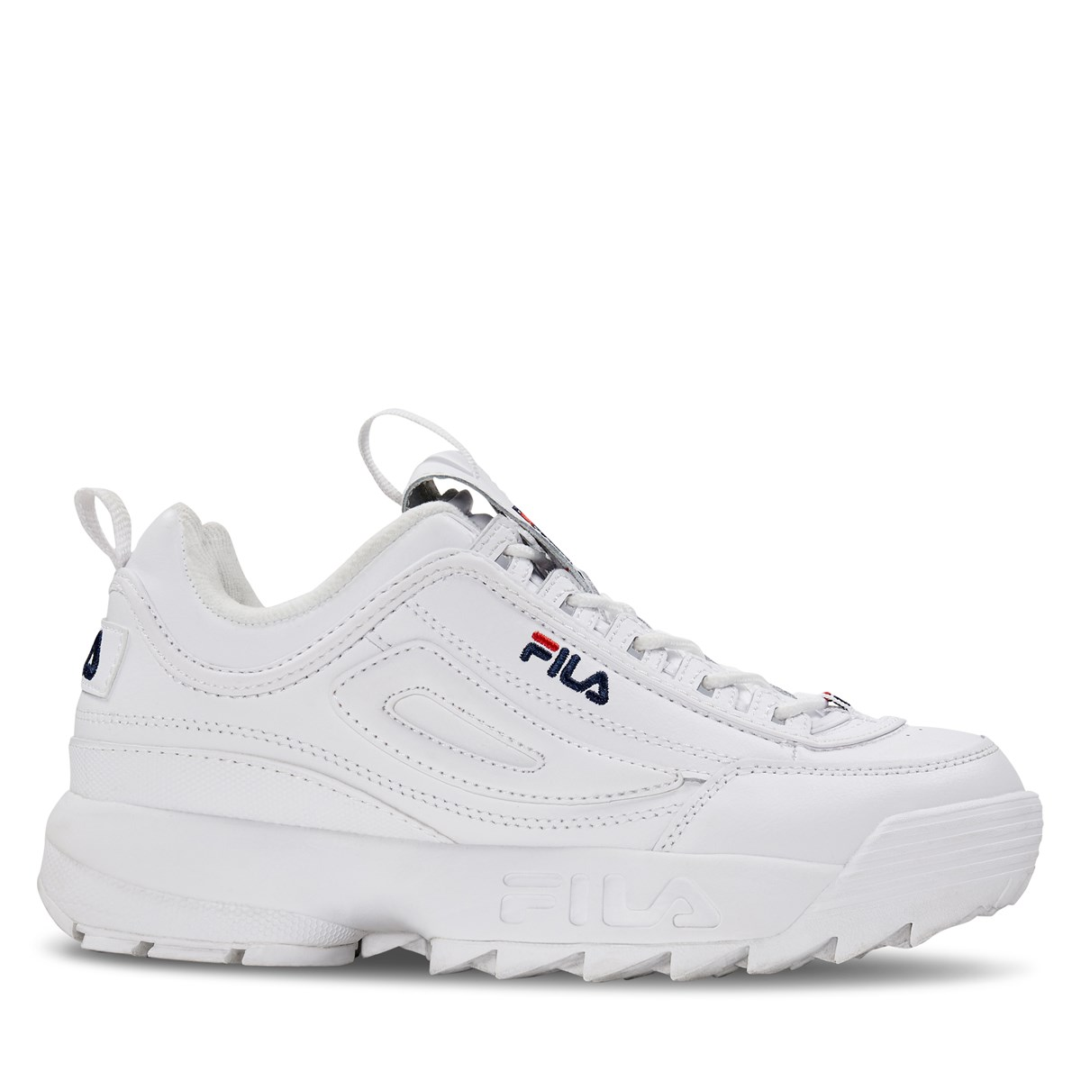 most popular search for genuine large discount Women's Disruptor II Premium Sneakers in White