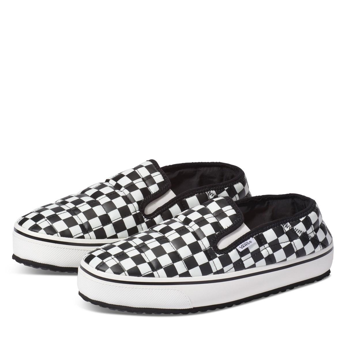 Women's Slip-Er Slippers in Checkerboard