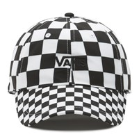 Court Side Printed Hat in Checkerboard