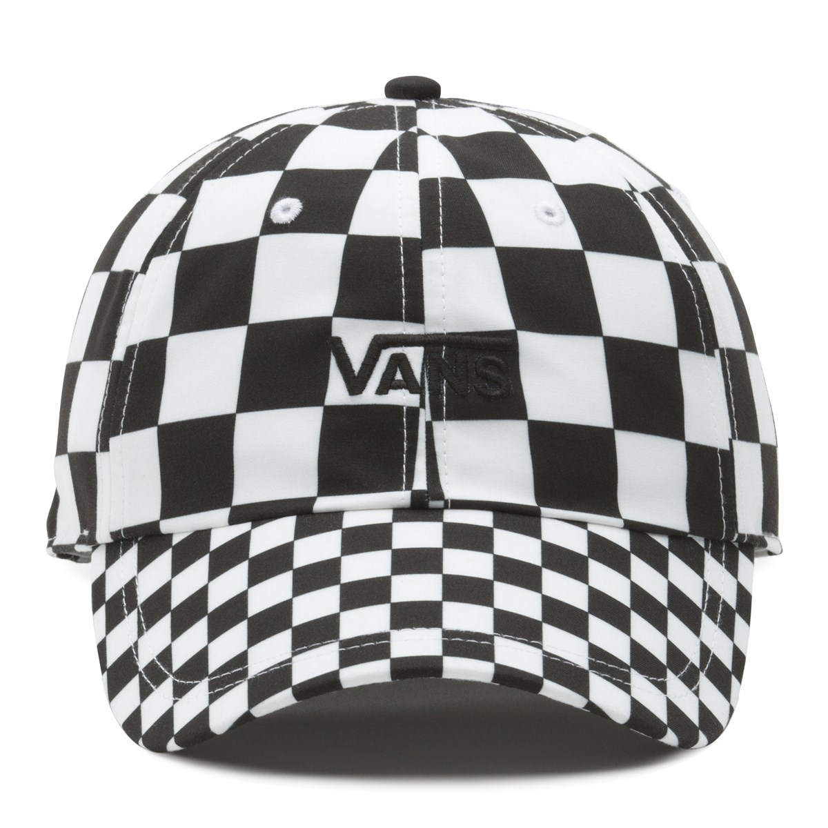 8762b38c Court Side Printed Hat in Checkerboard