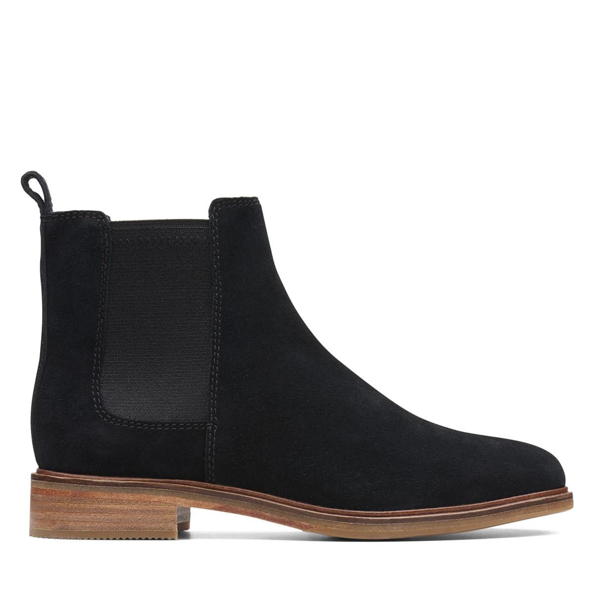 Women's Clarkdale Arlo Chelsea Boots in Black