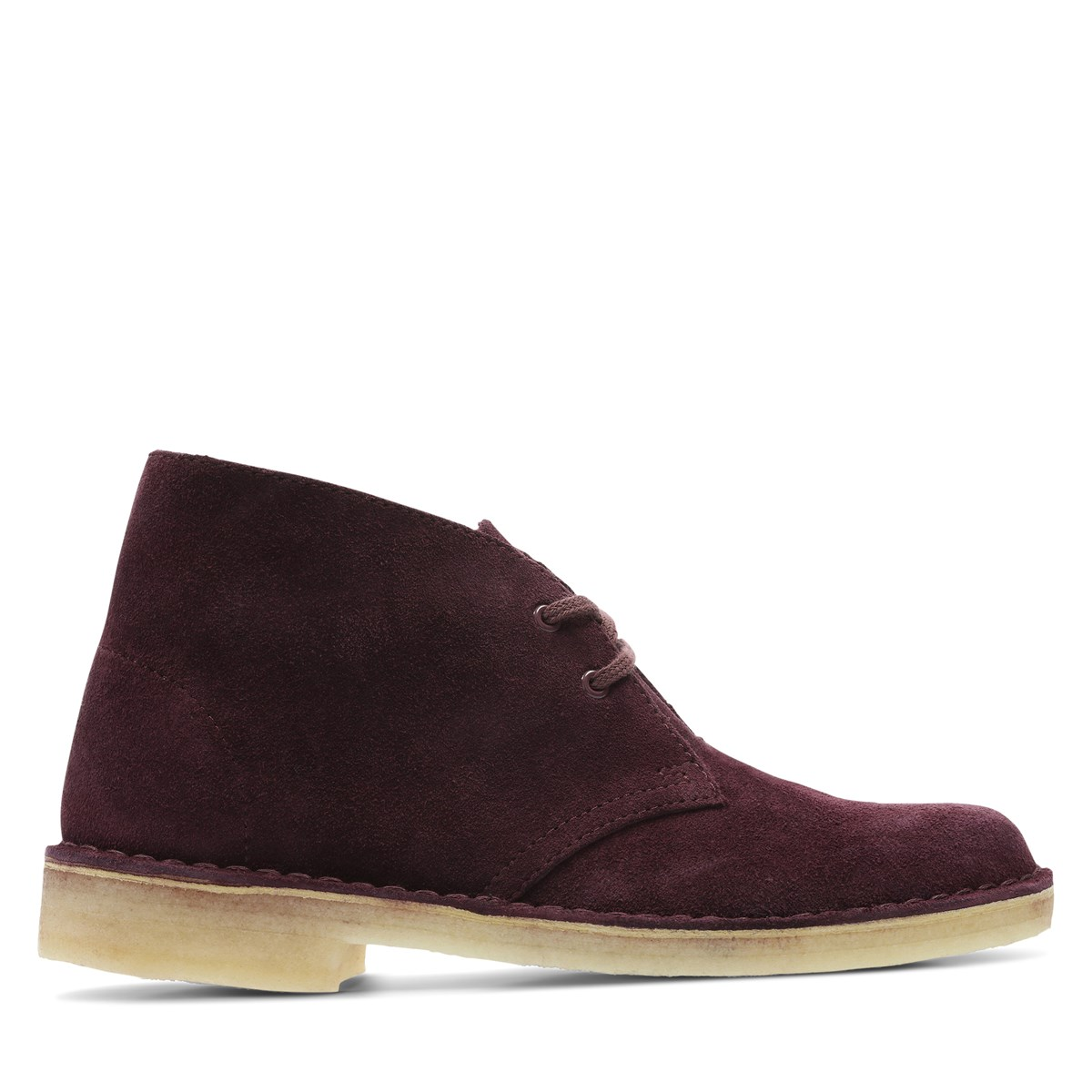 Women's Desert Boots in Bordeaux