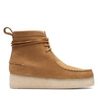 Women's Wallabee Craft Boots in Beige