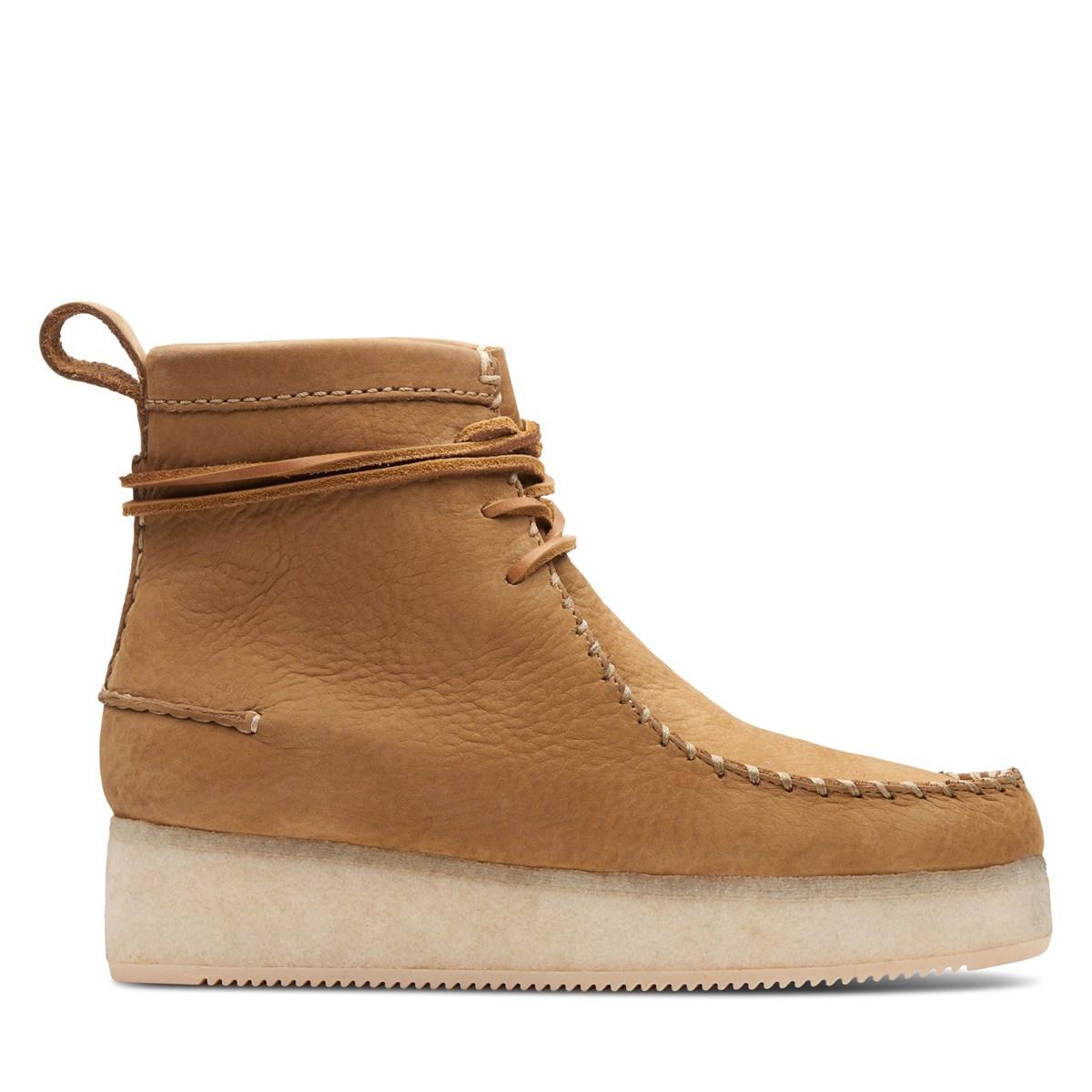 Women s Wallabee Craft Boots in Beige  b405696ac4