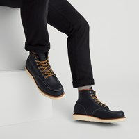 Men's 8859 6-Inch Classic Moc Boots in Navy