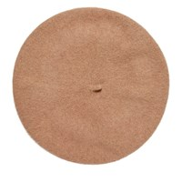 Women's Beret in Camel